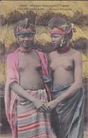 GUINEE-FOUTA-DIALLON--jeunes Foulahs-( Seins Nus )--afrique Occidentale-( Rare En Couleur )-voir 2 Scans - French Guinea
