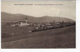 38 - St JOSEPH De RIVIÈRE - Vue Générale (Côtés De Miribel Et De Villette) (P123) - France