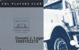 Sky City Casino - Acoma, NM - CDL / Trucker Slot Card - Casino Cards