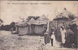 GUINEE--TOUMANEA--haute-guinée-( Seins Nus )--afrique Occidentale-( Trés Moyen )-voir 2 Scans - French Guinea