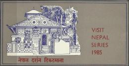 NEPAL - 1985 TOURISM FIRST DAY FOLDER   SG 464-5  Sc 437-8 - Nepal