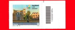 Nuovo - MNH - ITALIA - 2018 - Palermo Capitale Italiana Della Cultura 2018 - Chiese - B - Barre 1894 - Bar Codes