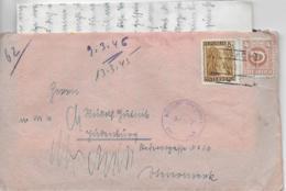 WZ L 1  Zensur-Brief Von Bachmanning Nach Judenburg ( OT Lambach ) 9. III. 1946 - 1945-.... 2. Republik