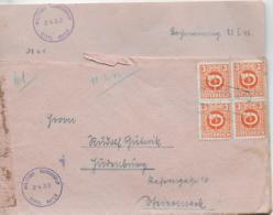 WZ L 1  Zensur-Brief Von Bachmanning Nach Judenburg( OT Lambach ) Am 11.. 3. 1946 - 1945-.... 2. Republik