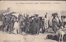 SOUDAN---TOMBOUCTOU--le Marché--afrique Occidentale--voir 2 Scans - Soudan