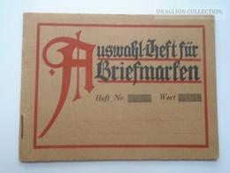 ZA157.21 Briefmarken-Auswahlheft  - Old Empty Stamp Booklet -Romania Bucuresti -Dr. Arnold Jazlowitz  Judaica - Old Paper