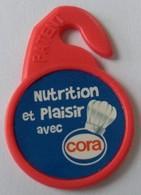 Jeton De Caddie - Nutrition Et Plaisir Avec CORA - En Plastique - - Jetons De Caddies