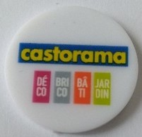 Jeton De Caddie - CASTORAMA - En Plastique - - Trolley Token/Shopping Trolley Chip