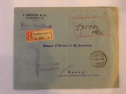 2 LR /EB Frankfurt 1922/3 - Germany