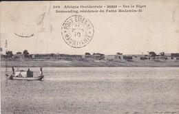 SOUDAN--sur Le Niger-sansanding, Résidence Du Fama Mademba-si--( état Moyen Voir 2 Scans ) - Soudan