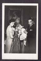 CPA ROYAUTE - ROYALISME - Baptême Du Petit Dauphin - 5 Juillet 1933 - TB PLAN COMTE DE PARIS + HENRI ISABELLE - Personnages