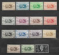 Colonies Timbres De Réunion De 1943/44  N°233 A 246 + N°251 Neufs ** - Reunion Island (1852-1975)