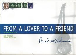 Publicité , Revendeur Musique , PAUL McCARTNEY , From A Lover Toa Friend , 2001 ,  2 Scans ,frais Fr 1.55 E - Publicités