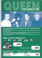Publicité , Revendeur Musique , QUEEN , LET ME LIVE , 1996 ,frais Fr 1.55 E - Publicités