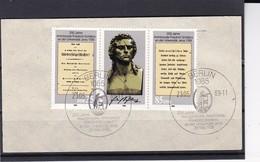 DDR, Nr. 3254/55 ZD ESST Auf Briefstück (K 3972b) - Gebraucht
