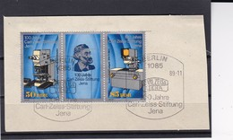 DDR, Nr. 3252/53 ZD ESST Auf Briefstück (K 3973) - Gebraucht