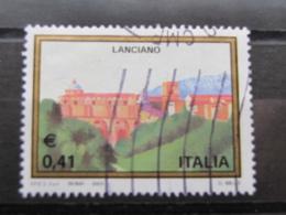 *ITALIA* USATI 2003 - 30^ TURISTICA LANCIANO - SASSONE 2682 - LUSSO/FIOR DI STAMPA - 6. 1946-.. Repubblica