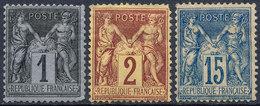 France 1878 Mint - 1876-1878 Sage (Type I)
