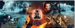 Great Britain. 2017. Cinema. Game Of Thrones. Block + Series - 1952-.... (Elizabeth II)