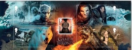 Great Britain. 2017. Cinema. Game Of Thrones. Block + Series - Ongebruikt