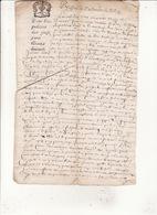 Ressort Du Parlement De Toulouse 13 Oct 1673 Eaux Et Forets Arpentage Commune D'Ardiège En Nebouzan 4 Scans - Cachets Généralité