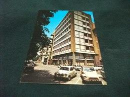 STORIA POSTALE  FRANCOBOLLO NATALE ITALIA HOTEL EUROPA VIA SPINELLO AREZZO AUTO CAR TOSCANA ANNULLO ARPHILEX 73 - Hotels & Restaurants
