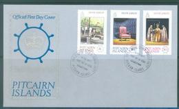 PITCAIRN - 6.2.1977 - FDC - SILVER JUBILEE ELIZABETH II - Yv 158-160 - Lot 18867 - Stamps