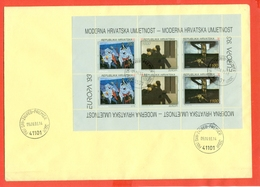 EUROPA CEPT-CROAZIA - HRVATSKA - FDC - MF 1993 - EUROPA CEPT - Croatia