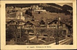 Cp Leysin Kt. Waadt Schweiz, Clinique Du Dr. Rollier - VD Vaud