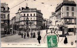 80 AMIENS - La Place Gambetta, Vue D'ensemble - Amiens