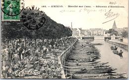 80 AMIENS - Marché Sur L'eau, Bateaux D'hortillons - Amiens