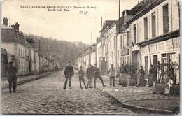 77 SAINT JEAN LES DEUX JUMEAUX - La Grande Rue - France
