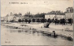 77 POMPONNE - Quai Bizeau - France