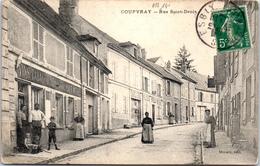 77 COUPVRAY - Rue Saint Denis - France