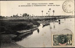 Cp Sudan, De Koulikoro à Tombouctou, Bords Du Niger - Algiers