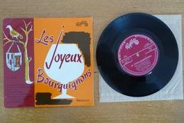 Les JOYEUX BOURGUIGNONS (Disque 45 Tours) (Dédicace) - Vinyl Records