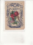 CHICOREE  EXTRA  A La Belle Jardinière C  BERIOT  A LILLE  Ajoutis Escargot Roses - Publicité