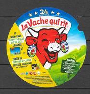 Étiquette De Boîte 24 Portions : La Vache Qui Rit. (Voir Commentaires) - Fromage