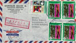 TEGUGIGALPA / Honduras - 1977 , Express Nach Nürnberg - Honduras