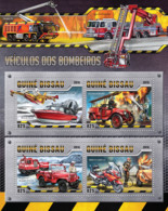 Guinea Bissau 2016  Fire Engines - Guinea-Bissau