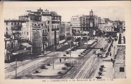 MAROC----CASABLANCA--le Boulevard Du 4è Zouaves--voir 2 Scans - Casablanca
