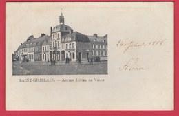 Saint-Ghislain En 1898... Précurseur - Ancien Hôtel De Ville ( Voir Verso ) - Saint-Ghislain