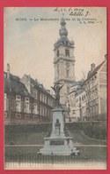 Mons - Le Monument Dolez Et Le Château ... Jolie Carte Couleur - 1904 ( Voir Verso ) - Mons