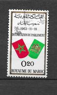 Installation Du Parlement. N°468 Chez Y Et T. (Voir Commentaires) - Marokko (1956-...)