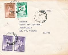 CHOLON / Saigon / Vietnam - 1957 - Brief  Nach St. Gallen - Vietnam