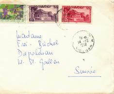 CHOLON / Saigon / Vietnam - 1959 - Brief  Nach St. Gallen - Vietnam