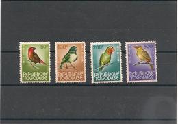 TOGO OISEAUX Années 1964/65 P.A. N° 40 Et 42 (S.G ) Et N° 39 Et 41 ** Forte Côte - Togo (1960-...)