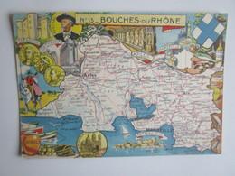 Bouches Du Rhone No. 13 - Carte Publicitaire Verrulyse. Editions Publirex - Unclassified