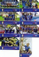 *ITALIA: NAZIONALE CAMPIONE DEL MONDO* - Serie Completa Usata - Italia
