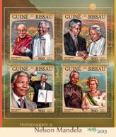 Guinea Bissau 2016  Nelson Mandela ,Pope John Paul II  ,Queen Elizabeth - Guinea-Bissau